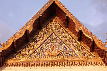 Detail  temple