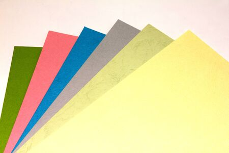 Colorful paper1 Stock Photo