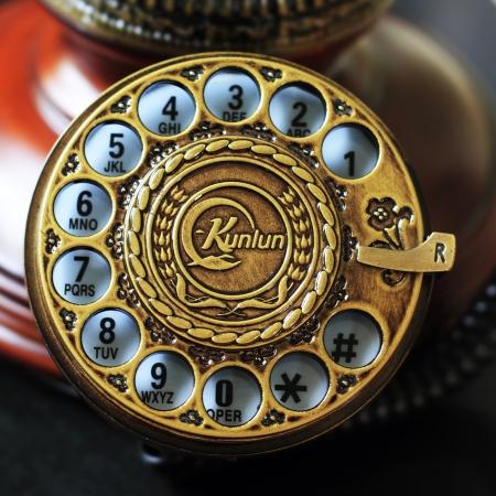 telephone: los n�meros de tel�fono Foto de archivo