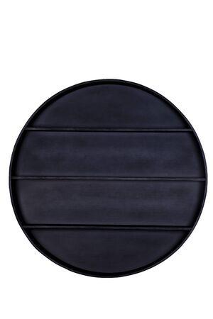 Black Empty wood shelf Stock Photo - 17075268