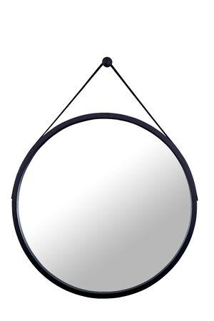 wood Mirror black