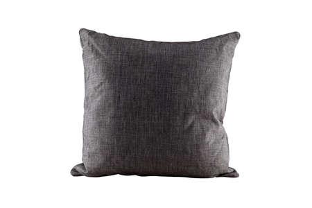 Gray pillow  Stock Photo