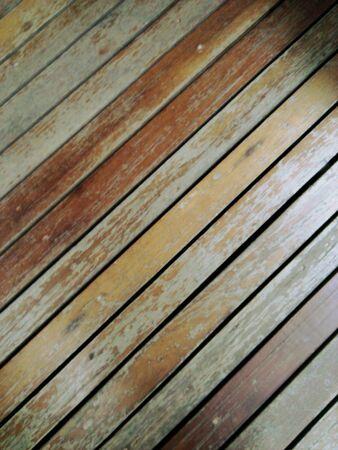 Ola wododen floor. Stock Photo