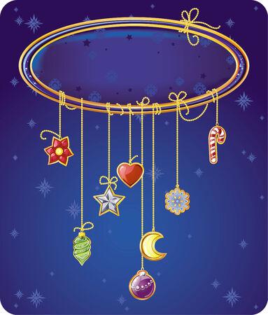 Christmas greeting card Stock Vector - 5808048