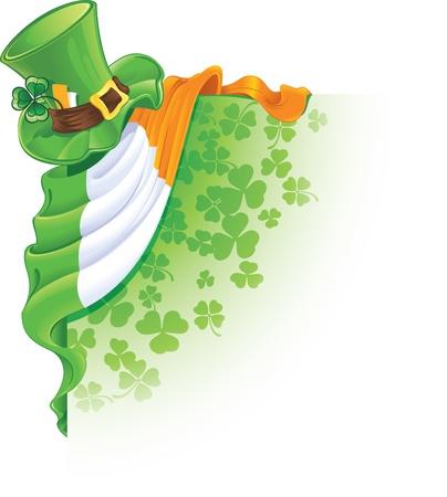 corner design element for Saint Patrick's Day Stock Vector - 8790568