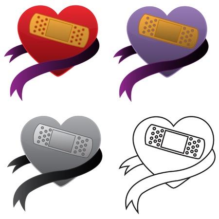 Healed Heart Illusztráció