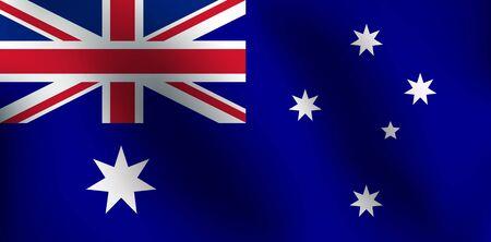 Flag of Australia - Vector Illustration Illustration