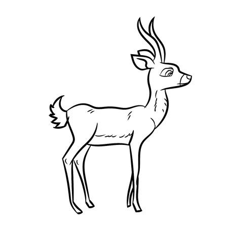 절연, 흑인과 백인 만화 벡터 일러스트 레이 션의 색칠 공부 책 - 라인 그려진 된 벡터의 손으로 그린 된 스케치 스톡 콘텐츠 - 80493606