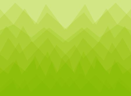 Vector Abstract geometric background, green forest concept design.
