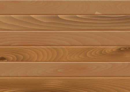 Wooden planks texture Background in horizontal format in flat style - Vector Illustration Çizim
