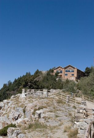 Mountain Lodge at the top of Sandia Crest, in New Mexico