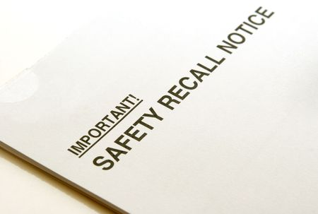 imminent: Safety Recall Notice against a white background