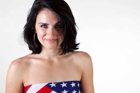 Sexy Patrotic Woman