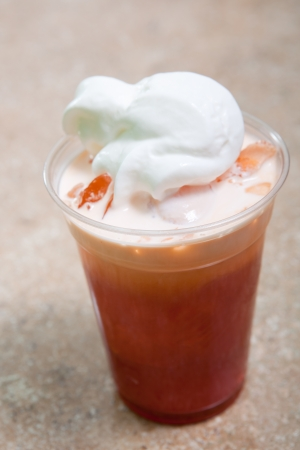 Thai iced tea photo