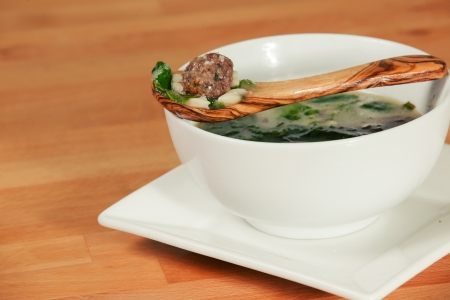 Traditional Italian Wedding Meatball Soup