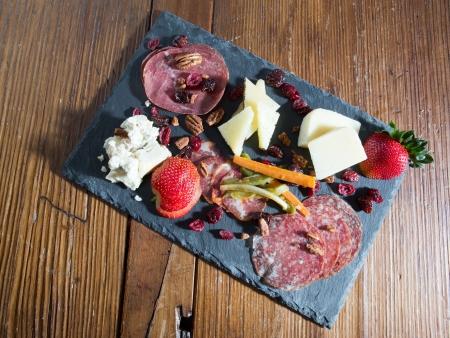 amuse: Fancy Gourmet Cheese platter