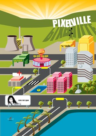 Welcome to  Pixelville City! not far from MicroCity... photo