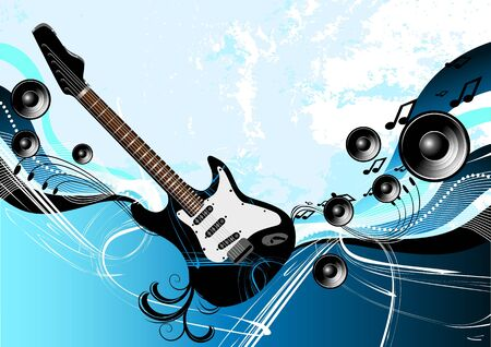 acoustics: Music Guitar Abstract