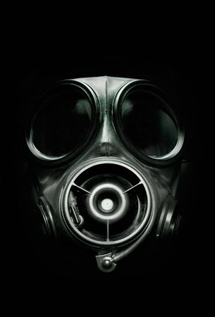 UK S10 Armed Forces Gas Mask. Stock Photo