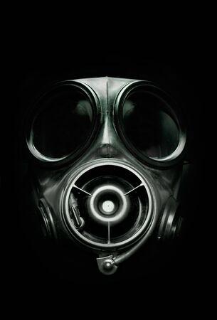 gasmasker: VK S10 Strijdkrachten Gas Mask. Stockfoto