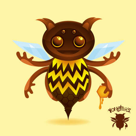 The Honey Beest - It may just find your pot of honey... Stock Photo - 4812741