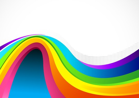 Flowing Colour Background with flowing elements. Vector illustration.