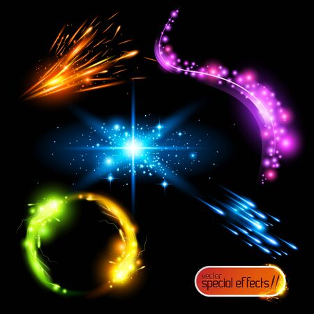 electric spark: Efectos especiales