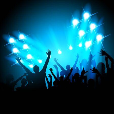 Mensen tijdens een Concert