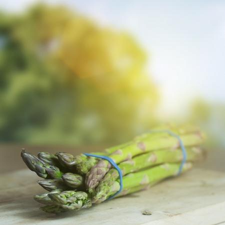 vegs: Farmed Organic Asparagus