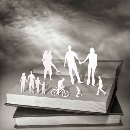papercut: Books For Everyone  Conceptual