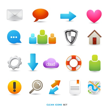 A Collection of Icons and Symbols designs  Vector