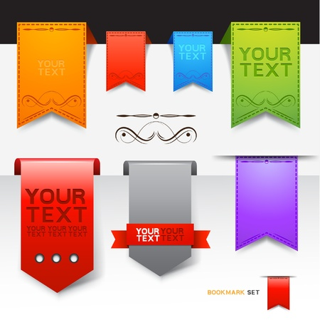 A Collection of bookmarks designs  Stock Vector - 13176097
