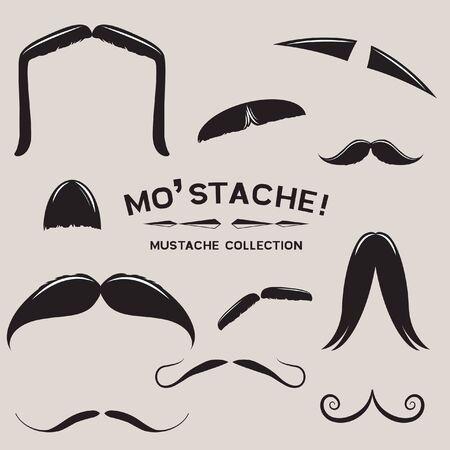 Mustachio Mustache Design Set