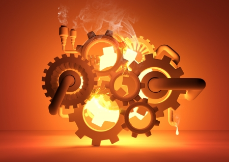 Gears of Industry - conceptual image
