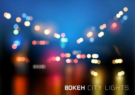 боке: Bokeh городского движения