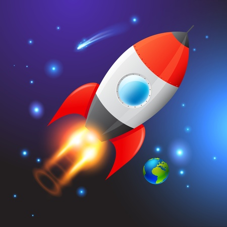 Vector Space Rocket  Journey to the unknown  Vector