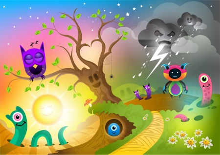 crazy cute: Monster Land
