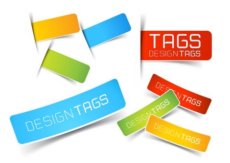 banner sign label background: Design Tags and Labels