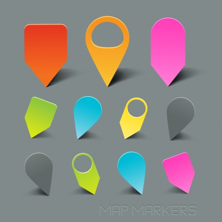 follow icon: Map Markers