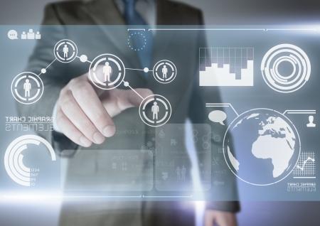 Futuro de la comunicación - Concepto de tecnología