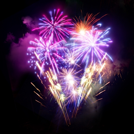 A large Fireworks Display event. Stock Photo - 16462383