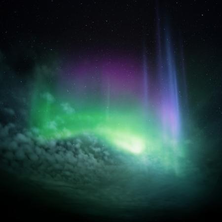 geomagnetic: Northern Lights  Aurora  Northern Norway, winter 2012
