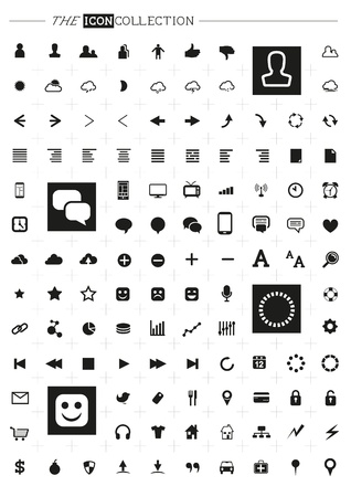 Modern Icon Set Vector