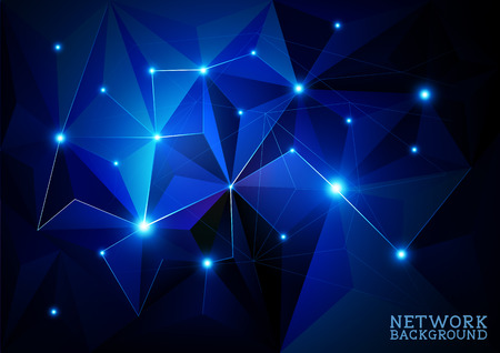 abstract background vector: Connected Network Background, abstract background vector illustration.