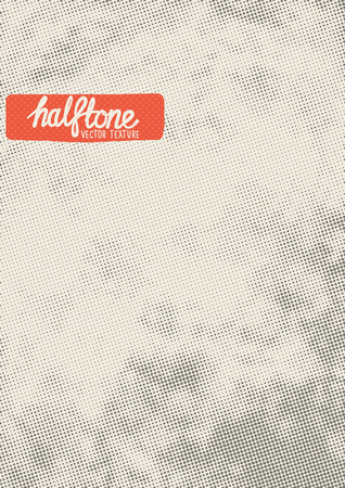 Vector Halftone Texture. Halftone pattern texture to add depth to designs. Layered vector illustration. Vector