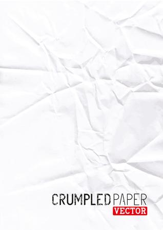 scarpbook: Crumpled Paper Vector background design.