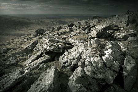 Rugged Wild Landscape - Dartmoor UK