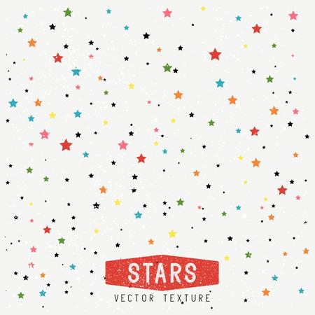 Stars Texture Background. Stars Vector Texture. Vector Illustration. Vektoros illusztráció