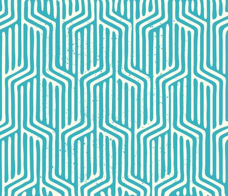 유행: 원활한 벡터 기하학적 패턴입니다. 기하학적 인 텍스처 패턴을 반복합니다. 벡터 일러스트 레이 션.