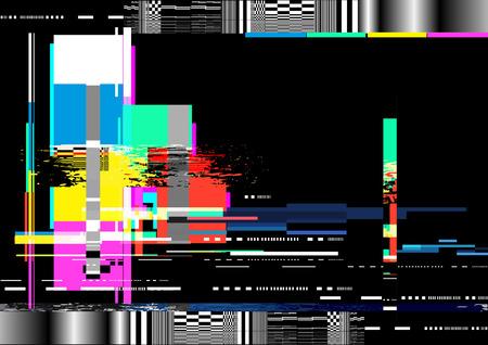 Un fondo de textura de distorsión de ruido de interferencia. Ilustración del vector Foto de archivo - 72483244